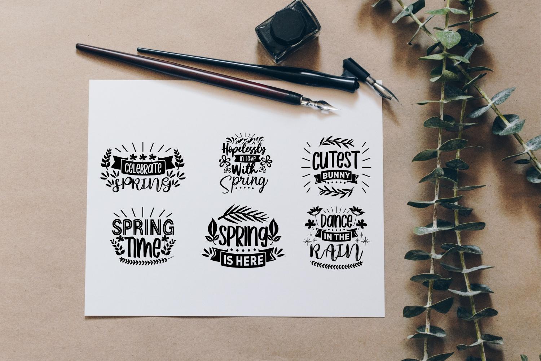Spring SVG Quotes Bundle, Spring Season SVG - 15 13 -