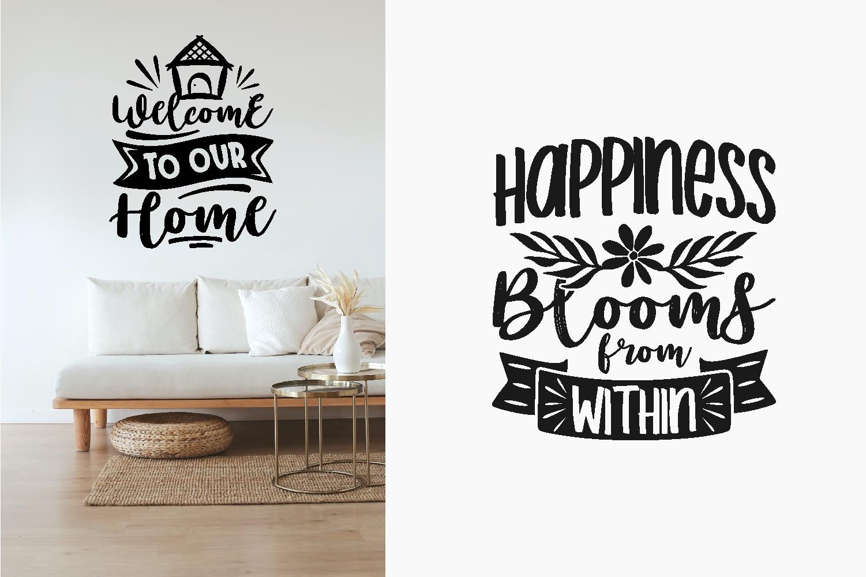 Home Quotes SVG Bundle, Craft Designs Collection Cut File - 1 175 -