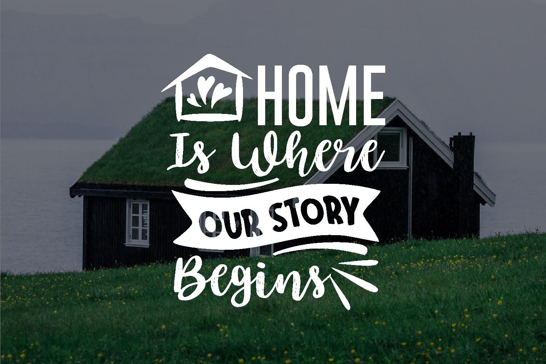 Home Quotes SVG Bundle, Craft Designs Collection Cut File - 9 93 -