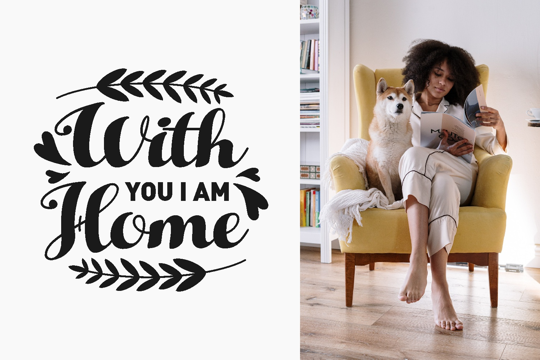 Home Quotes SVG Bundle, Craft Designs Collection Cut File - 11 56 -