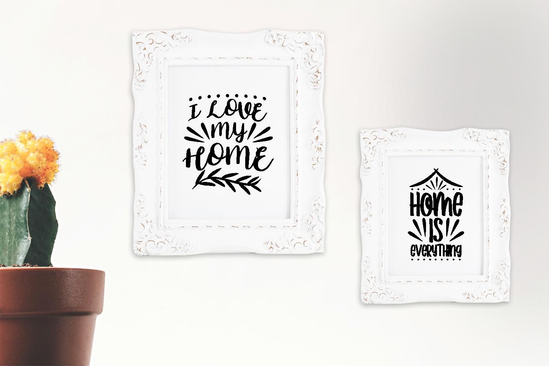 Home Quotes SVG Bundle, Craft Designs Collection Cut File - 16 7 -