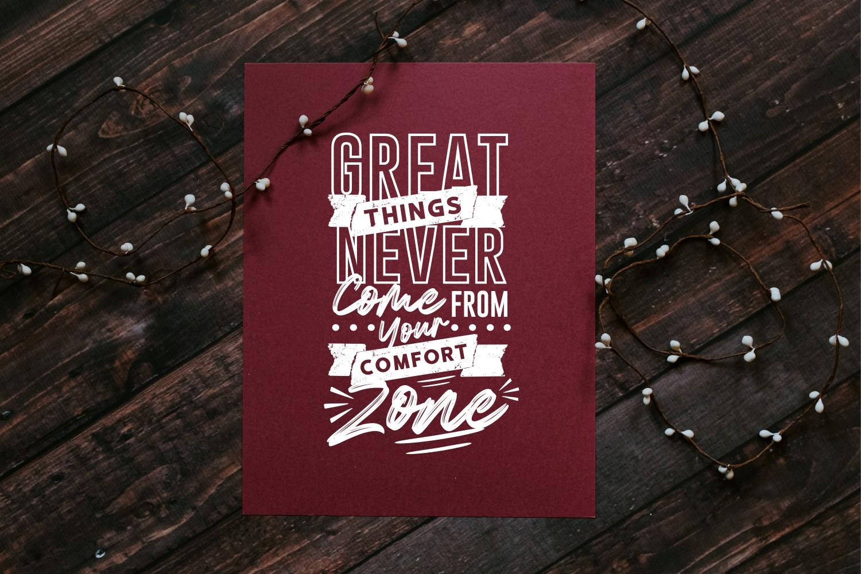 Motivational Quotes SVG Bundle, Craft Designs Collection Cut File - 1 176 -