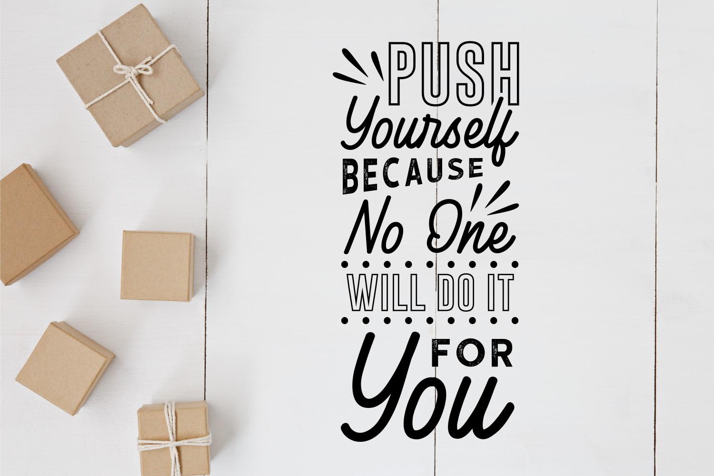 Motivational Quotes SVG Bundle, Craft Designs Collection Cut File - 12 41 -