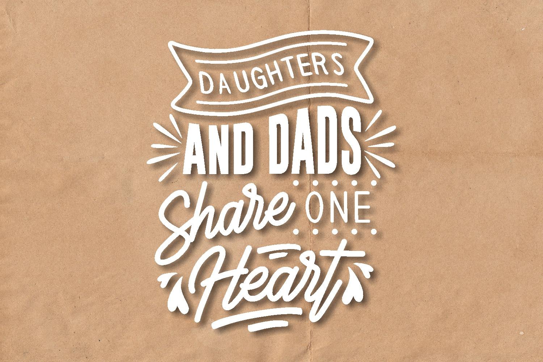 Dad Quotes SVG Bundle, Craft Designs Collection Cut File - 7 134 -