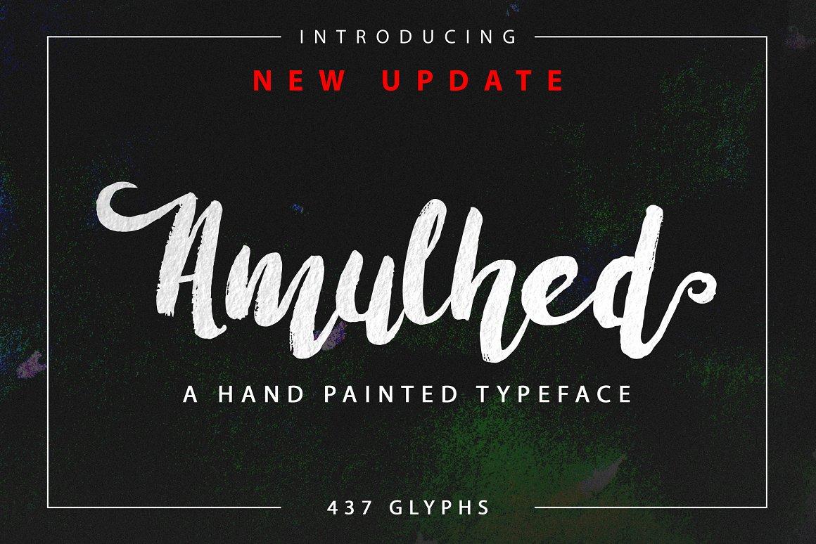 BIG PACKAGE - Font Bundle - 90% Off - 29 Amulhed Brush -
