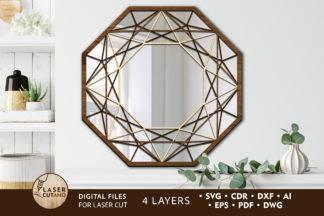 Free SVG Files - mirror 1 laser cut files lasercutano cover -