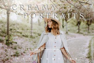 Desktop Lightroom Presets - creamy portraits presets 1 -