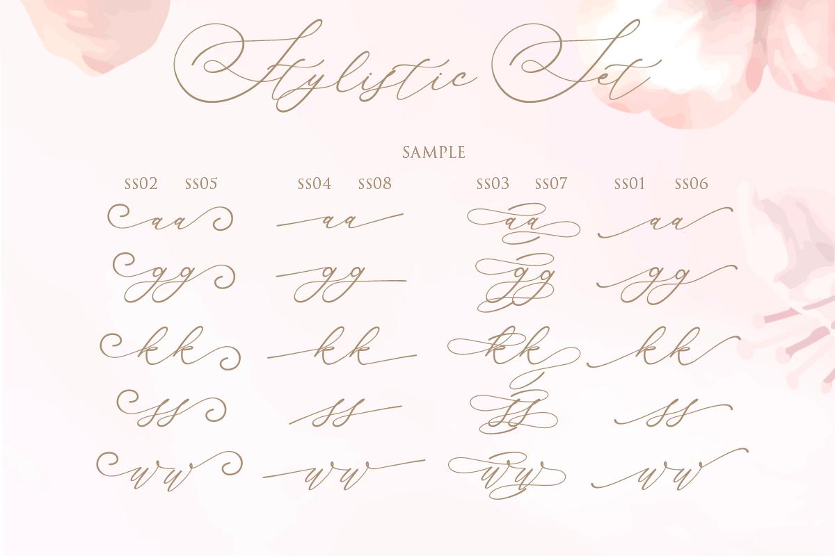 Amalia Script Calligraphy - Gilar Saleh 8 -