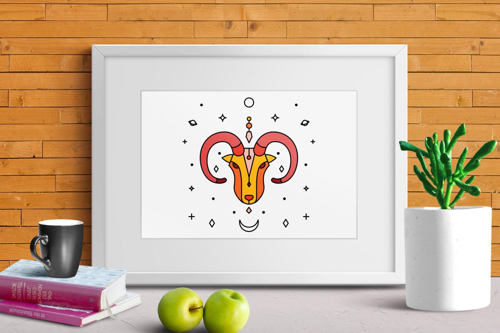 Zodiac Icon & Signs - scr 2 -