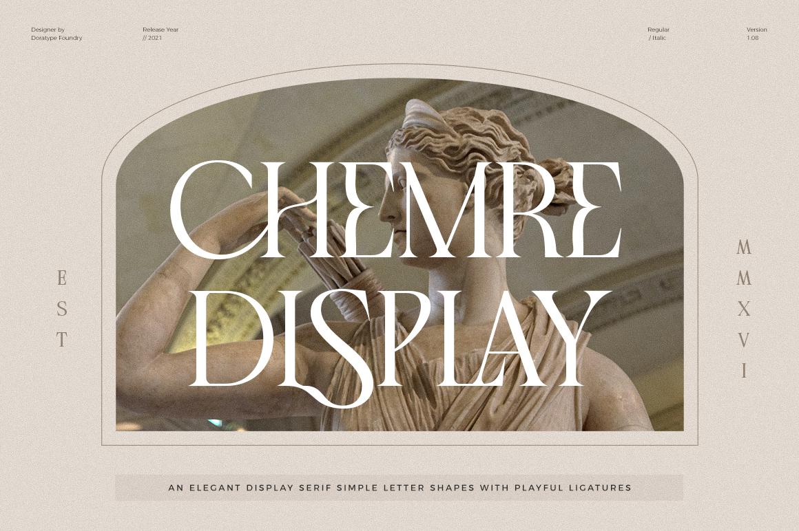Chemre - Elegant Serif - 1 199 -
