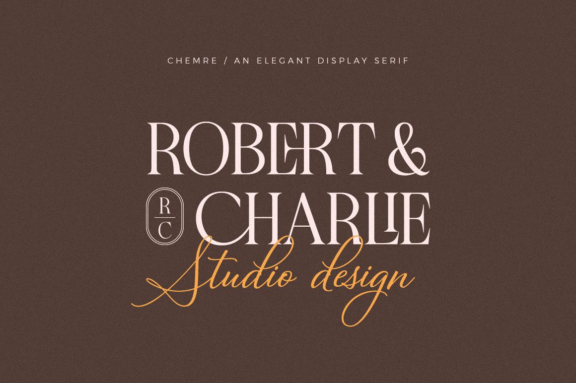 Chemre - Elegant Serif - 11 44 -