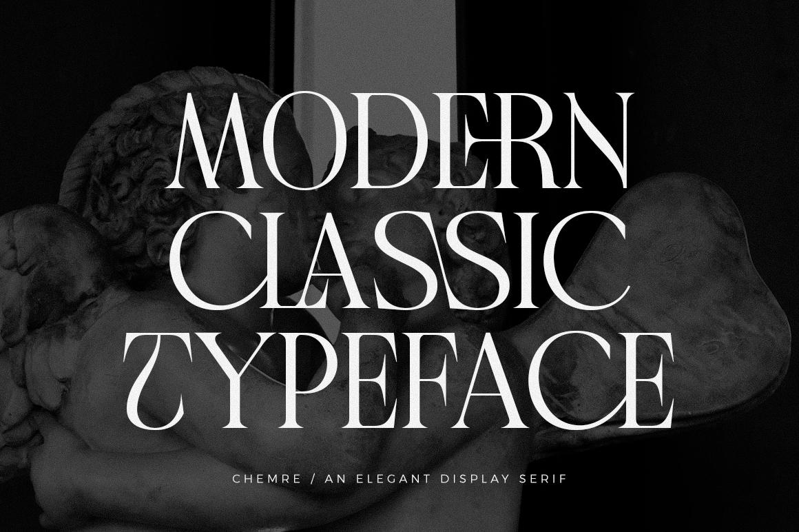 Chemre - Elegant Serif - 18 7 -