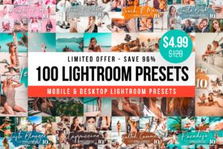 White Lightroom Presets - 100 lightroom presets for free lightroom mobile app -