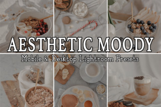 Black And White Lightroom Presets - AESTHETIC MOODY -