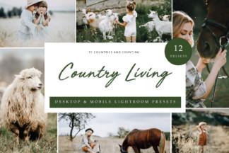 Influencer Lightroom Presets - Country Living LR -