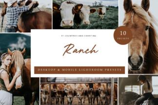 Mobile Lightroom Presets - Ranch LR -