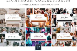 White Lightroom Presets - Lightroom Collection 08 -