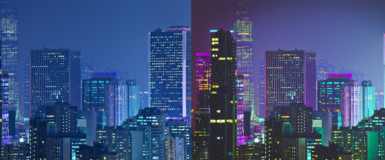 BUNDLE /// 08_Lightroom Collection // 71 x Desktop and Mobile Presets - 1 Neon City 1 -