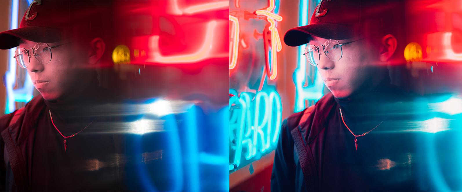 BUNDLE /// 08_Lightroom Collection // 71 x Desktop and Mobile Presets - 13 Neon City 1 -