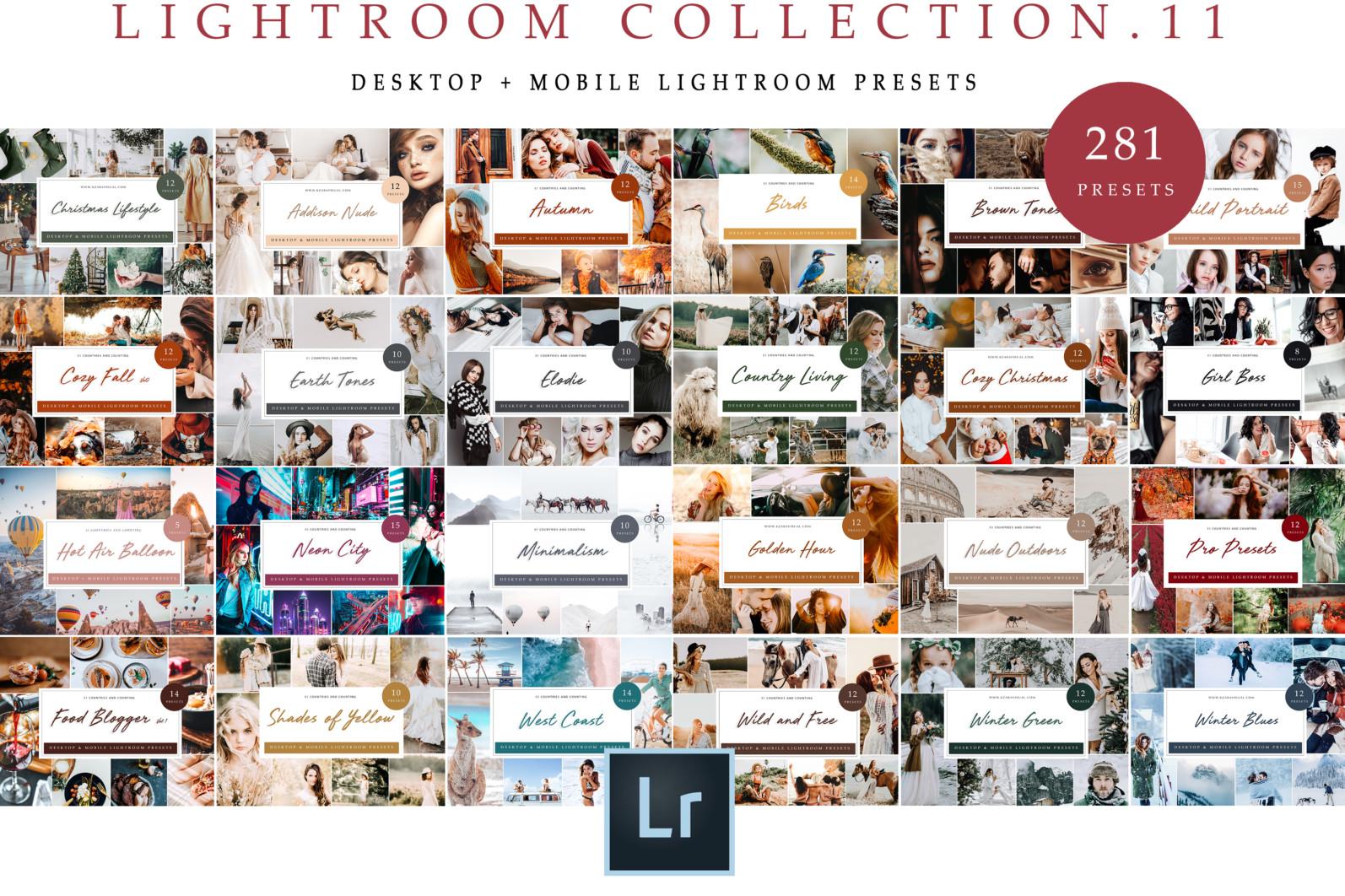 BUNDLE /// 281 x Lightroom Presets for Desktop // 24 Packs // Desktop and Mobile - Travel Collection 11 scaled -