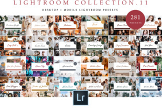 Lifestyle Lightroom Presets - Travel Collection 11 -