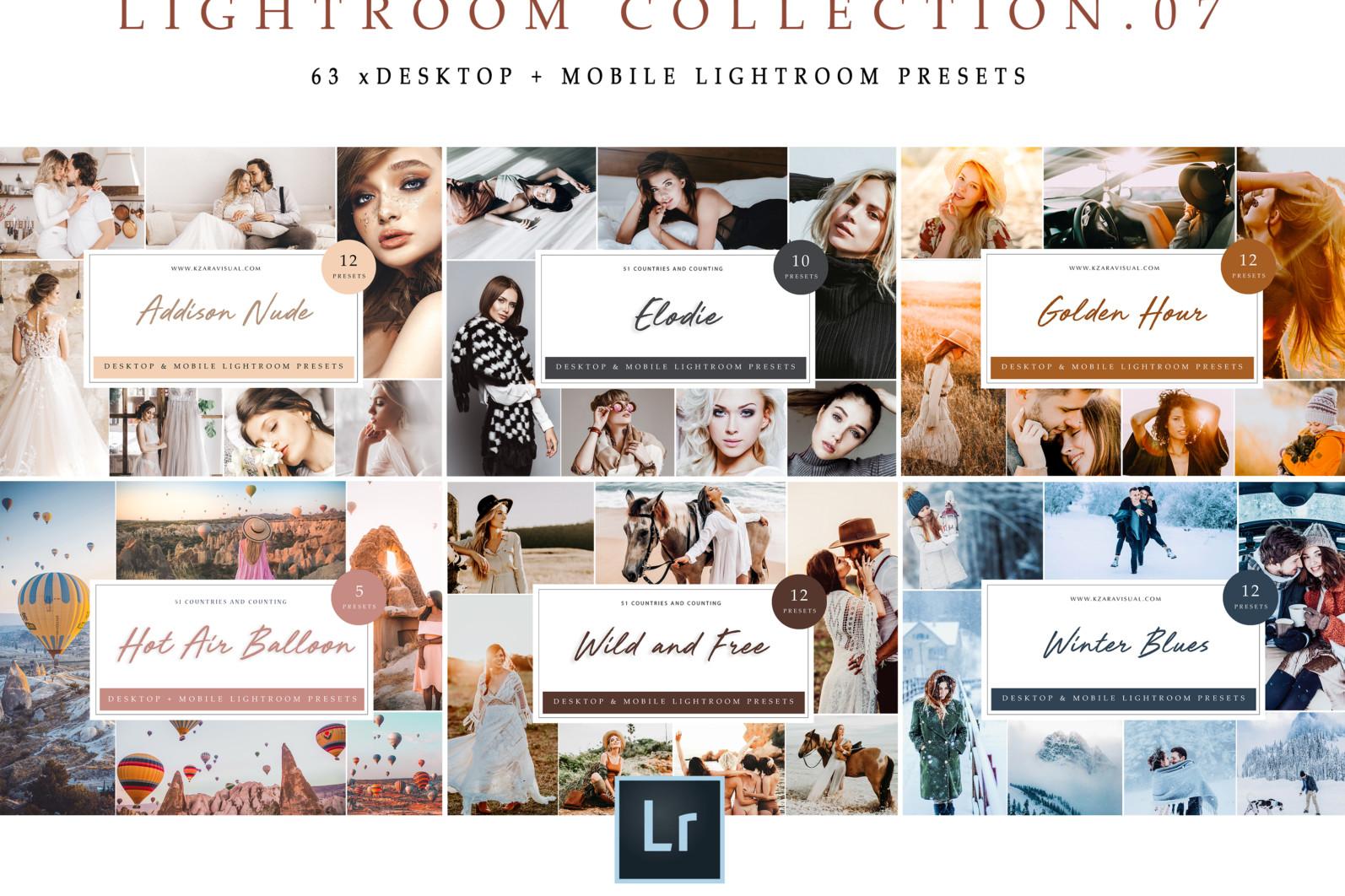 BUNDLE /// 281 x Lightroom Presets for Desktop // 24 Packs // Desktop and Mobile - Lightroom Collection 07 1 scaled -