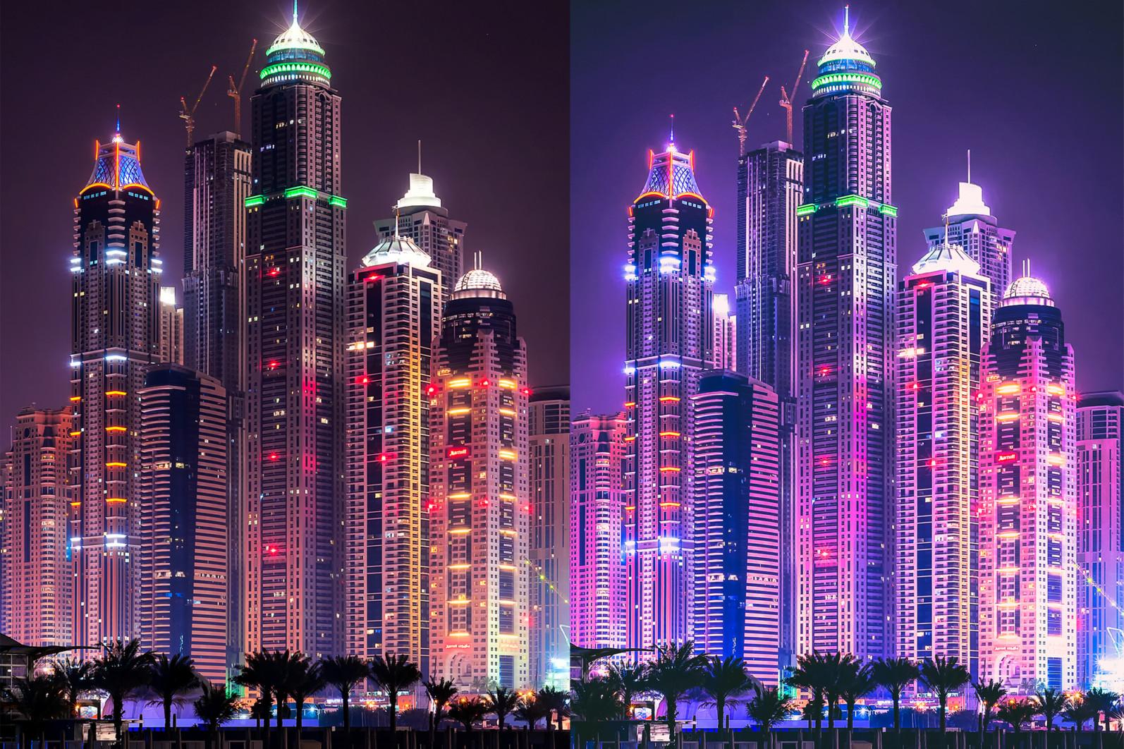 BUNDLE /// 281 x Lightroom Presets for Desktop // 24 Packs // Desktop and Mobile - 4 Neon City 1 -