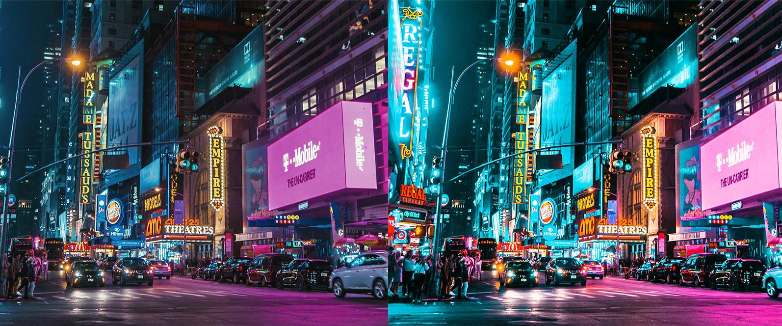 BUNDLE /// 281 x Lightroom Presets for Desktop // 24 Packs // Desktop and Mobile - 12 Neon City 1 -