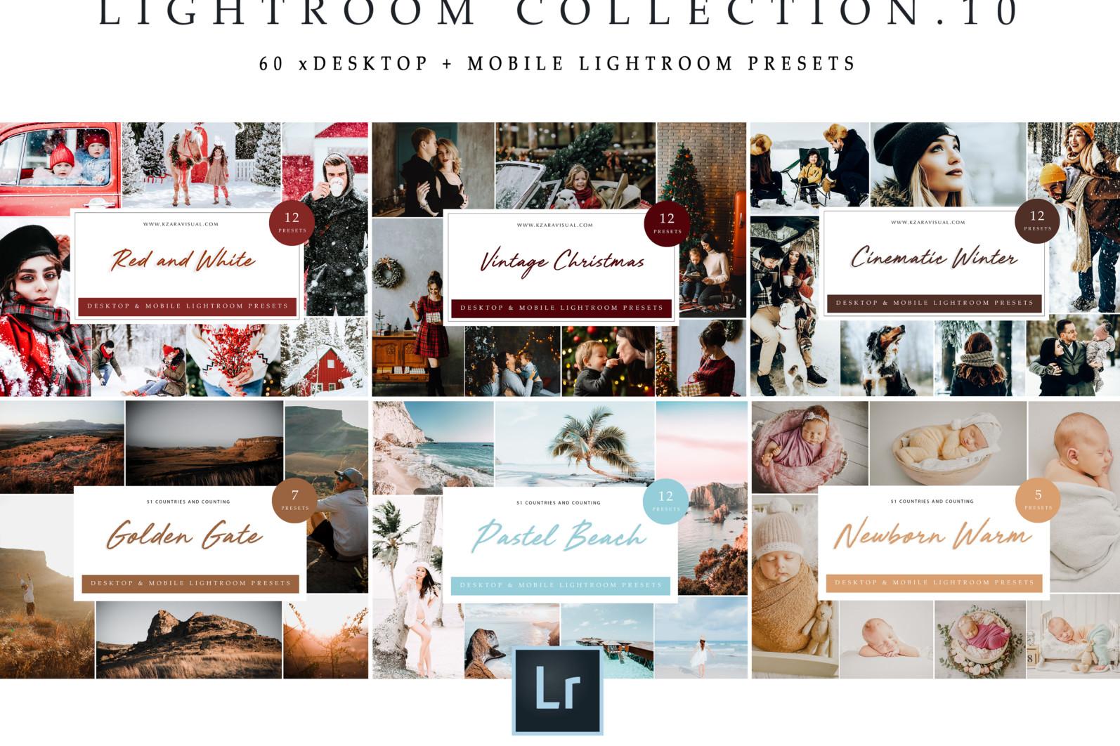BUNDLE /// 281 x Lightroom Presets for Desktop // 24 Packs // Desktop and Mobile - Lightroom Collection 10 2 scaled -