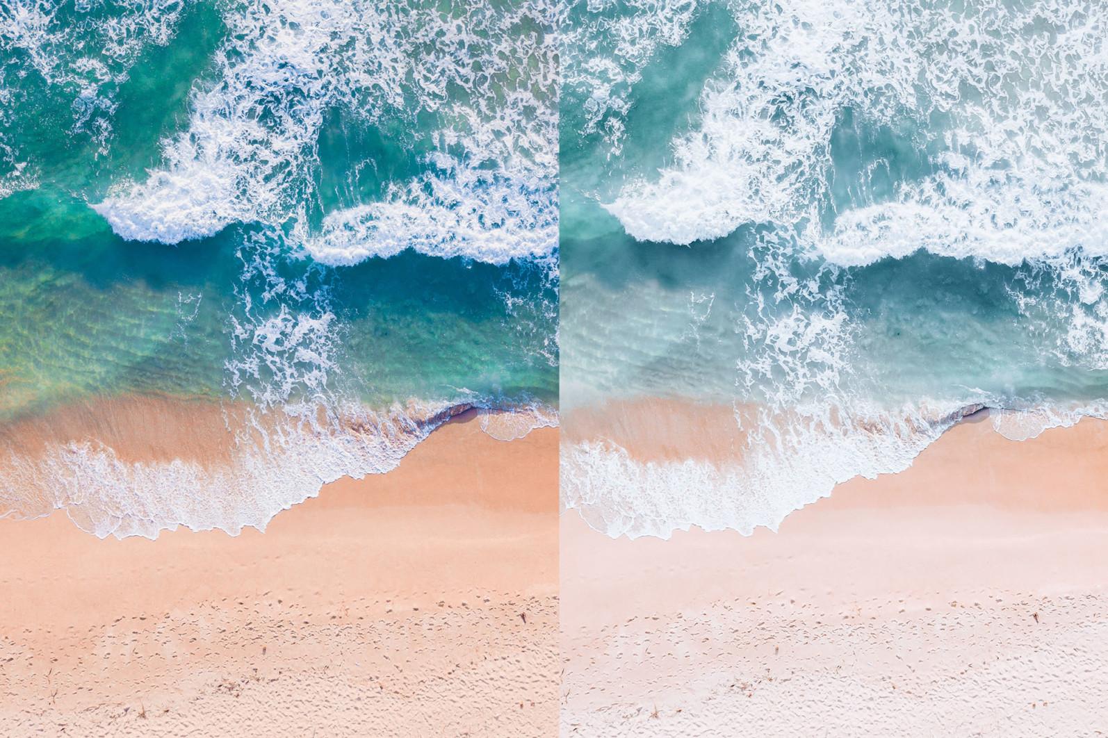 BUNDLE /// 281 x Lightroom Presets for Desktop // 24 Packs // Desktop and Mobile - 6 Pastel Beach 1 -