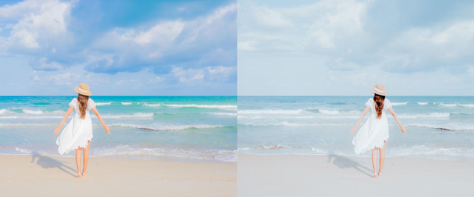 BUNDLE /// 281 x Lightroom Presets for Desktop // 24 Packs // Desktop and Mobile - 10 Pastel Beach 1 -