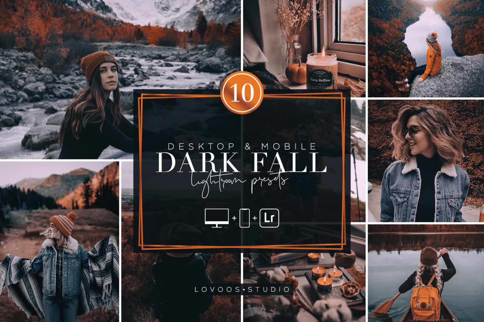 DARK FALL - Lightroom Presets - COV 09 -