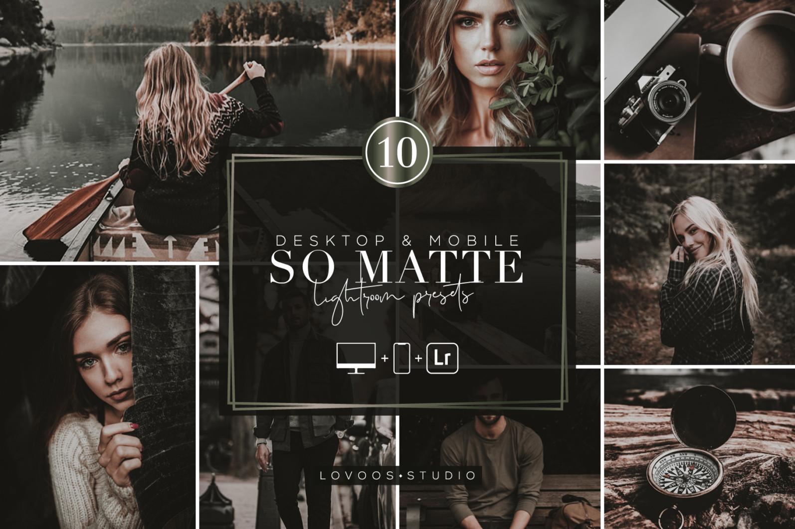 SO MATTE - Lightroom Presets - COV 10 -