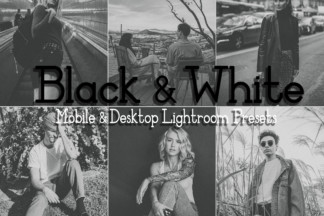 Black And White Lightroom Presets - BLACKWHITE -