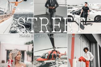 Fitness Lightroom Presets - STREET -