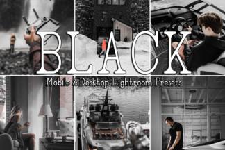 White Lightroom Presets - BLACK -