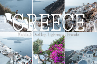 Black And White Lightroom Presets - GREECE -