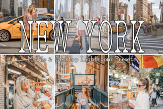 Black And White Lightroom Presets - NEW YORK -
