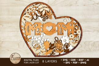 Popular Lightroom Presets - mom ever laser cut files lasercutano cover -