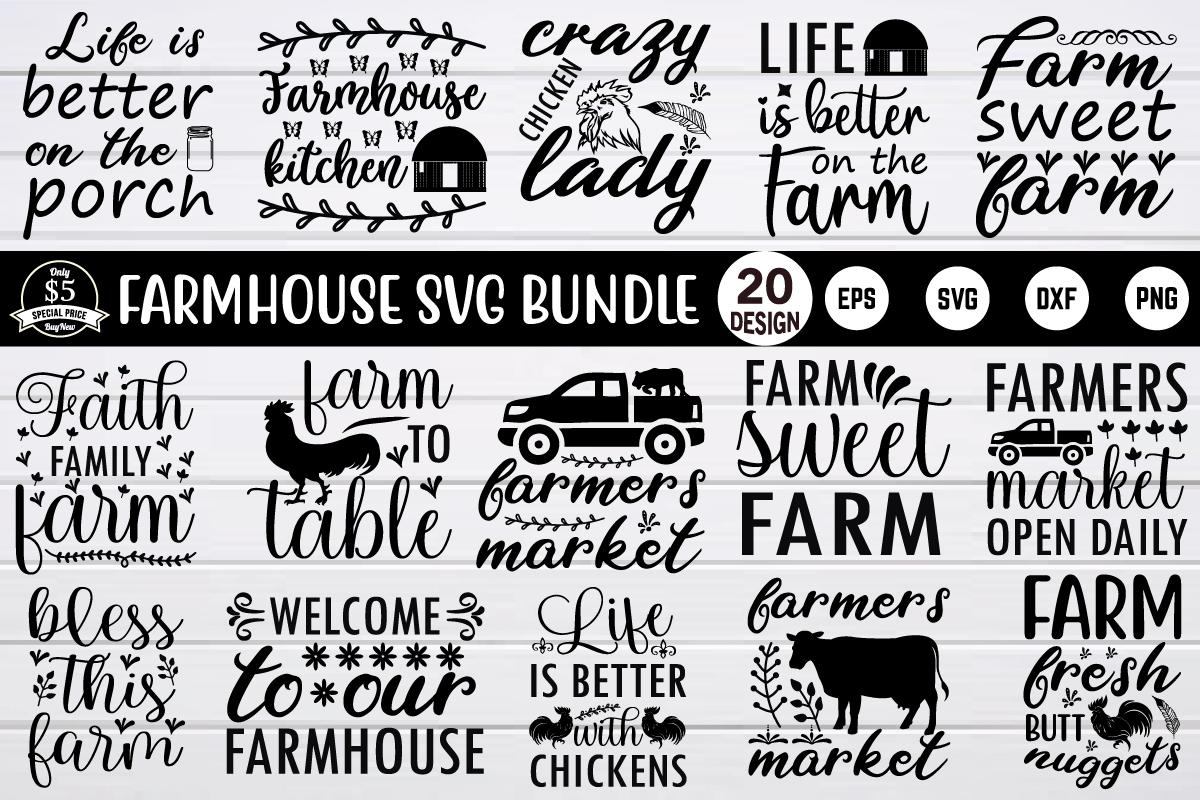farmhouse svg bundle vol 2 - design 1 12 -