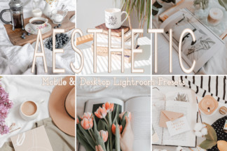 Black And White Lightroom Presets - AESTHETIC -