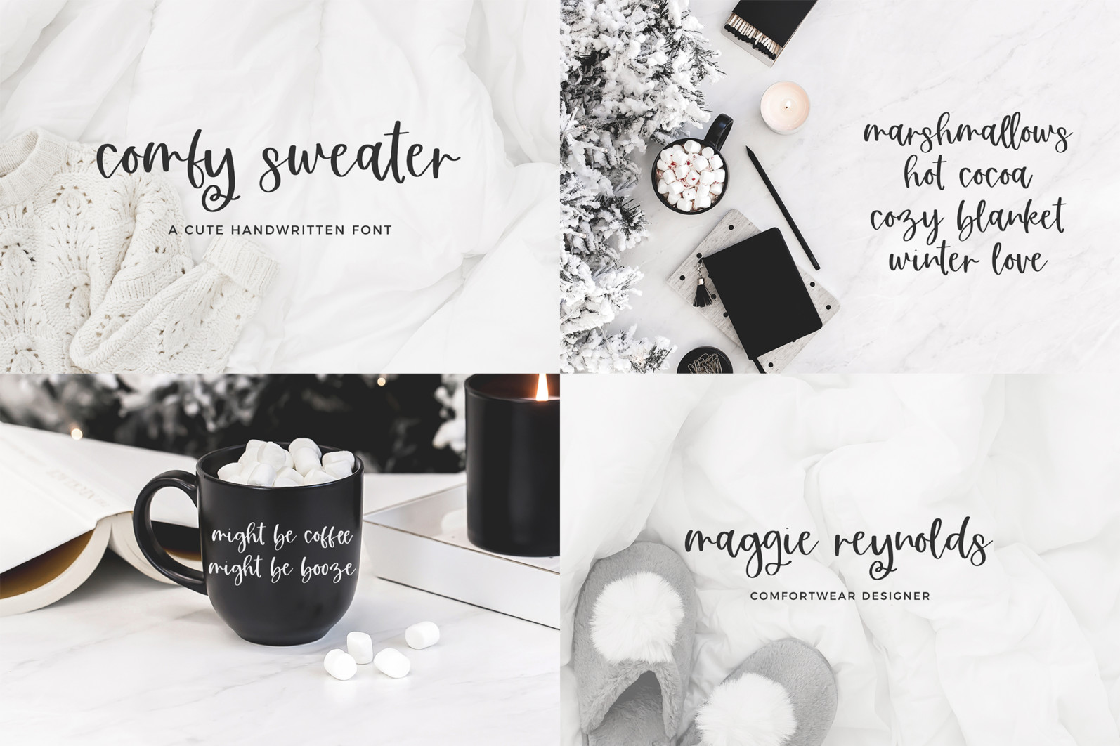 The Bounce Calligraphy Font Bundle - 4 224 -