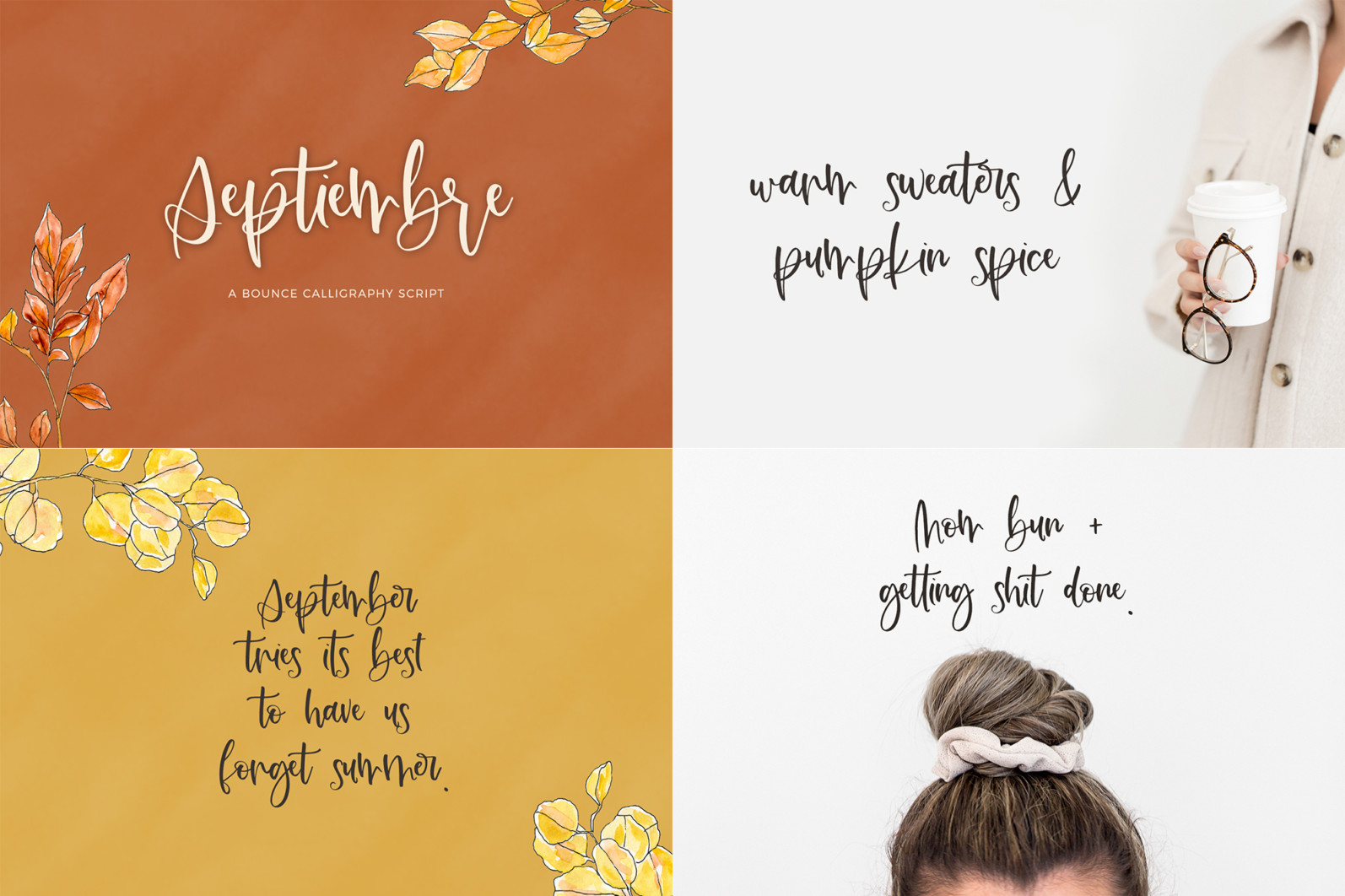The Bounce Calligraphy Font Bundle - 9 74 -
