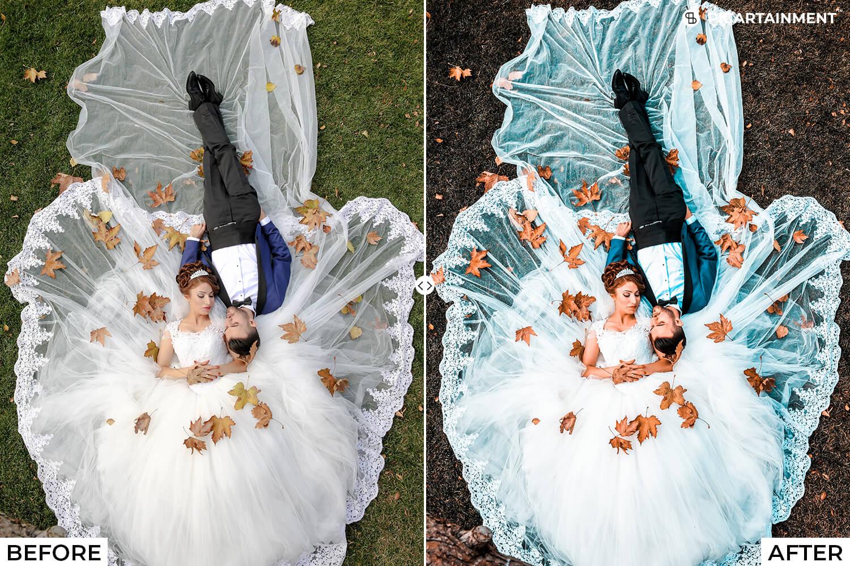 101 Wedding Premium Lightroom Presets - comparision 6 -