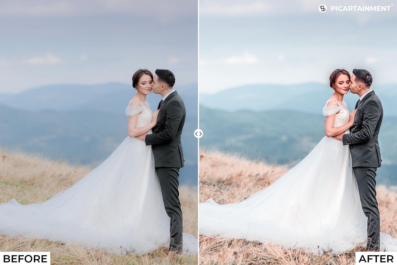 101 Wedding Premium Lightroom Presets - comparision 10 -