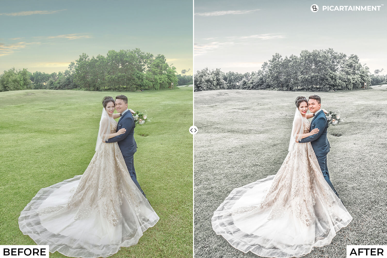 101 Wedding Premium Lightroom Presets - comparision 17 -