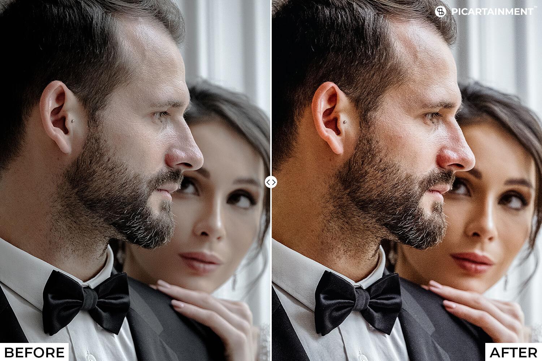 101 Wedding Premium Lightroom Presets - comparision 19 -