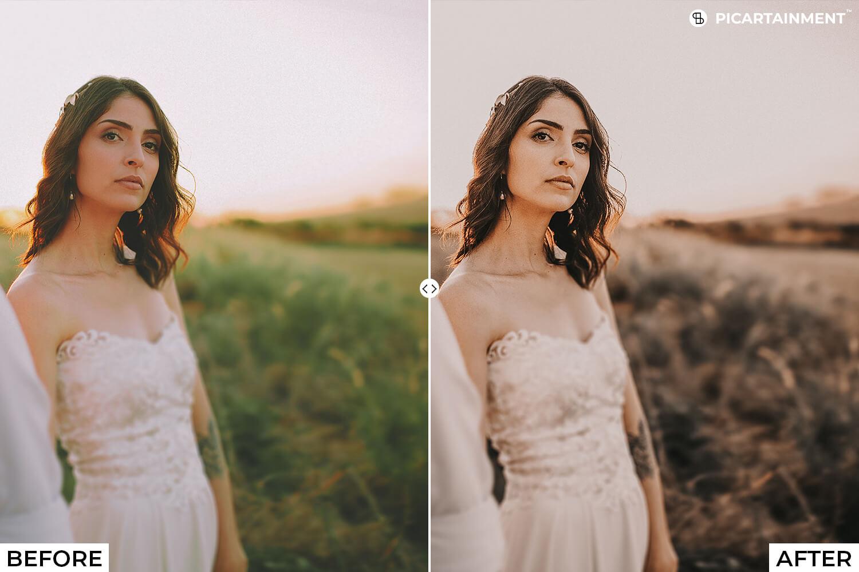 101 Wedding Premium Lightroom Presets - comparision 21 -