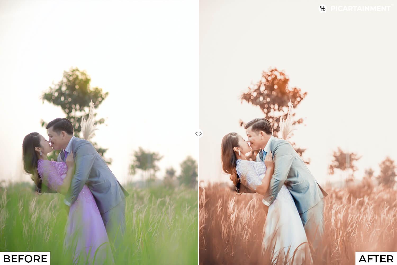101 Wedding Premium Lightroom Presets - comparision 26 -