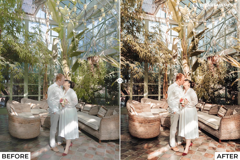 101 Wedding Premium Lightroom Presets - comparision 27 -